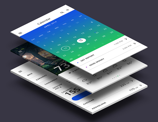 Mobile App Prototype UI / UX design